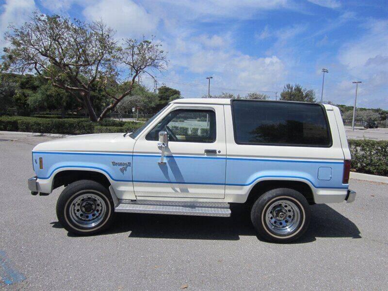 1985 Ford Bronco II for sale in Delray Beach, FL