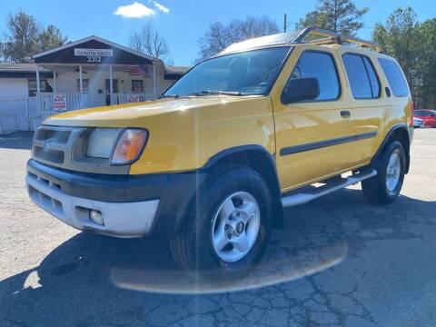 2001 Nissan Xterra for sale at CVC AUTO SALES in Durham NC