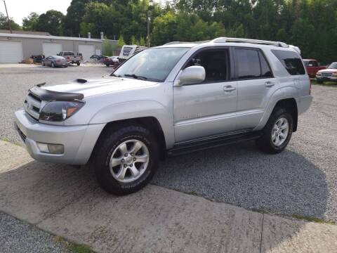 2005 Toyota 4Runner for sale at TR MOTORS in Gastonia NC