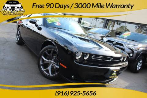2018 Dodge Challenger for sale at West Coast Auto Sales Center in Sacramento CA