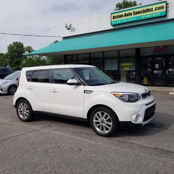 2017 Kia Soul for sale at Action Auto Specialist in Norfolk VA