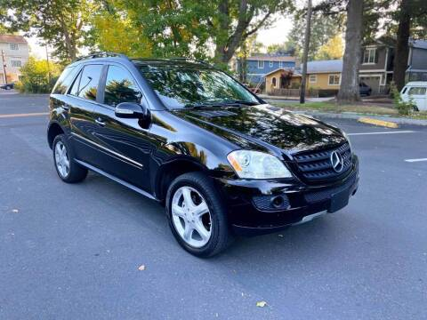 2008 Mercedes-Benz M-Class for sale at RICKIES AUTO, LLC. in Portland OR