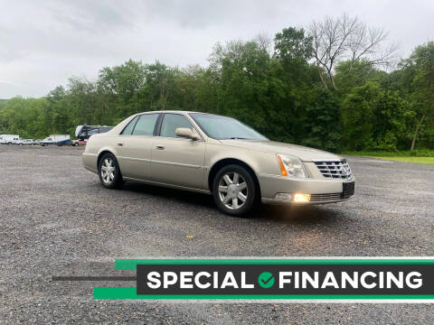2007 Cadillac DTS for sale at QUALITY AUTOS in Newfoundland NJ