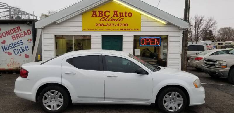 2012 Dodge Avenger for sale at ABC AUTO CLINIC in American Falls ID