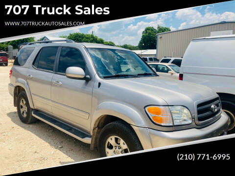2002 Toyota Sequoia for sale at 707 Truck Sales in San Antonio TX