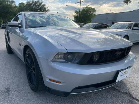 2012 Ford Mustang for sale at PRESTIGE AUTOPLEX LLC in Austin TX