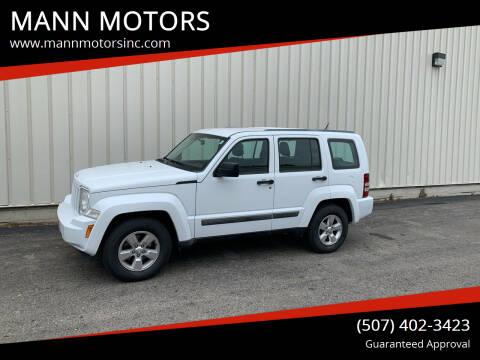 2012 Jeep Liberty for sale at MANN MOTORS in Albert Lea MN