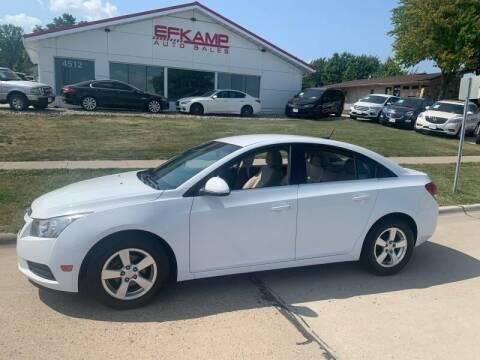 2011 Chevrolet Cruze for sale at Efkamp Auto Sales LLC in Des Moines IA
