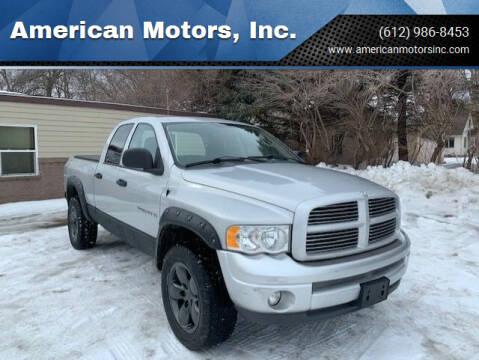 2003 Dodge Ram Pickup 1500 for sale at American Motors, Inc. in Farmington MN