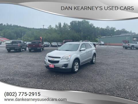 2015 Chevrolet Equinox for sale at DAN KEARNEY'S USED CARS in Center Rutland VT