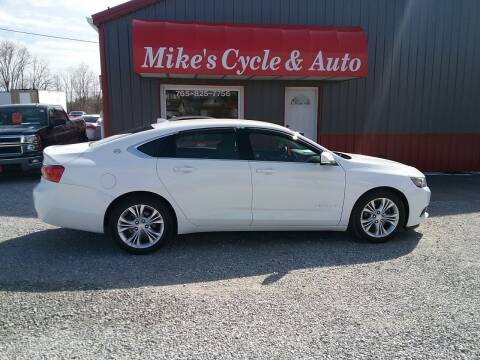2014 Chevrolet Impala for sale at MIKE'S CYCLE & AUTO - Mikes Cycle and Auto (Liberty) in Liberty IN