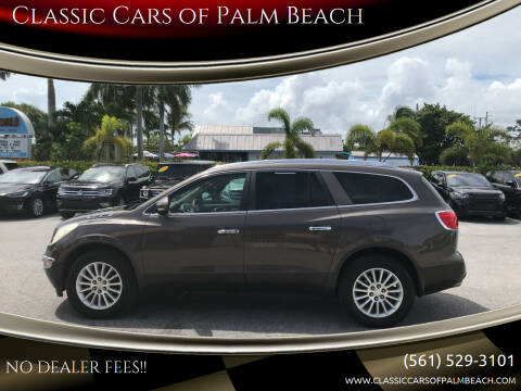 2012 Buick Enclave for sale at Classic Cars of Palm Beach in Jupiter FL