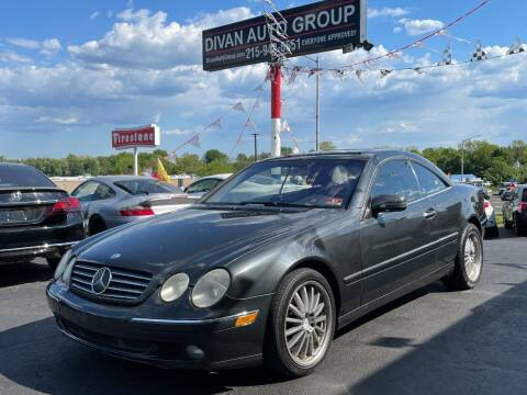 2001 Mercedes-Benz CL-Class for sale at Divan Auto Group in Feasterville PA