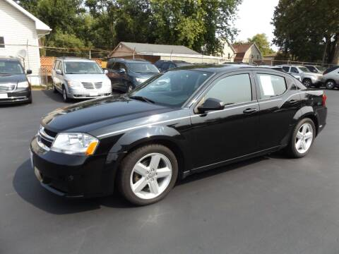 2013 Dodge Avenger for sale at Goodman Auto Sales in Lima OH