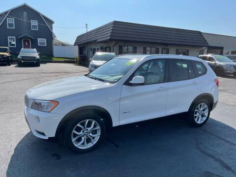2013 BMW X3 for sale at MAGNUM MOTORS in Reedsville PA