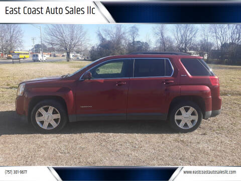 2011 GMC Terrain for sale at East Coast Auto Sales llc in Virginia Beach VA