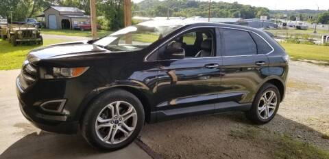 2015 Ford Edge for sale at SCHACHT MOTOR CO in Decorah IA