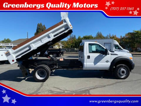 2011 Ford F-550 for sale at Greenbergs Quality Motors in Napa CA