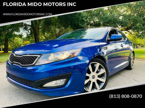 2013 Kia Optima for sale at FLORIDA MIDO MOTORS INC in Tampa FL
