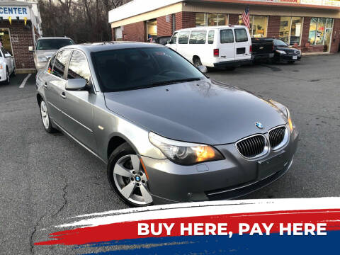 2008 BMW 5 Series for sale at REGIONAL AUTO CENTER in Stafford VA