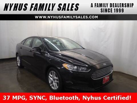 2014 Ford Fusion for sale at Nyhus Family Sales in Perham MN