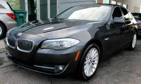 2012 BMW 5 Series for sale at Pars Auto Sales Inc in Stone Mountain GA