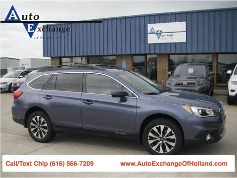 2015 Subaru Outback for sale at Auto Exchange Of Holland in Holland MI