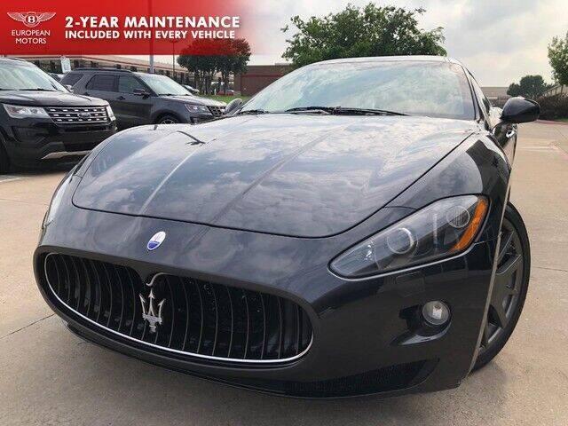 2008 Maserati GranTurismo for sale at European Motors Inc in Plano TX