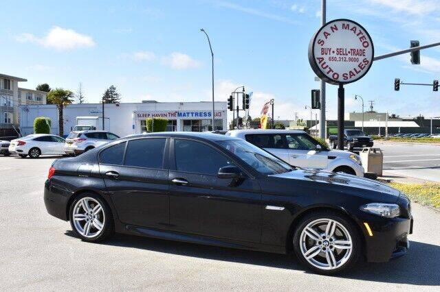 2014 BMW 5 Series for sale at San Mateo Auto Sales in San Mateo CA