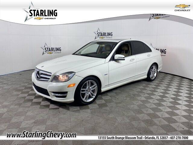 2012 Mercedes-Benz C-Class for sale at Pedro @ Starling Chevrolet in Orlando FL