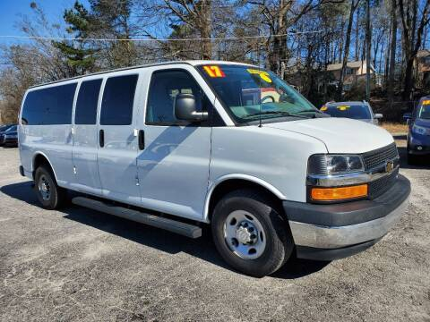 2017 Chevrolet Express Passenger for sale at Import Plus Auto Sales in Norcross GA