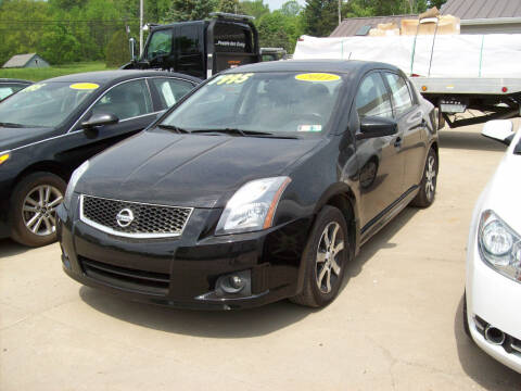 2011 Nissan Sentra for sale at Summit Auto Inc in Waterford PA