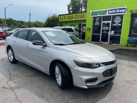 2018 Chevrolet Malibu for sale at Empire Auto Group in Indianapolis IN