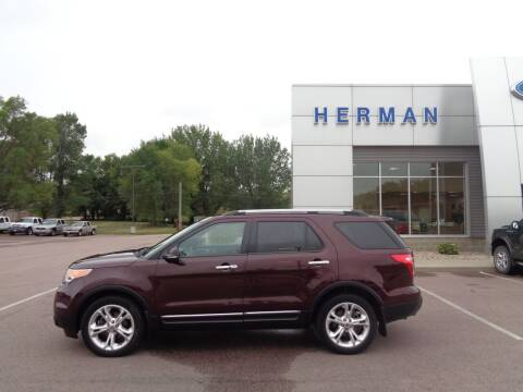2011 Ford Explorer for sale at Herman Motors in Luverne MN