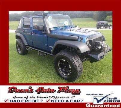 2009 Jeep Wrangler Unlimited for sale at Dean's Auto Plaza in Hanover PA