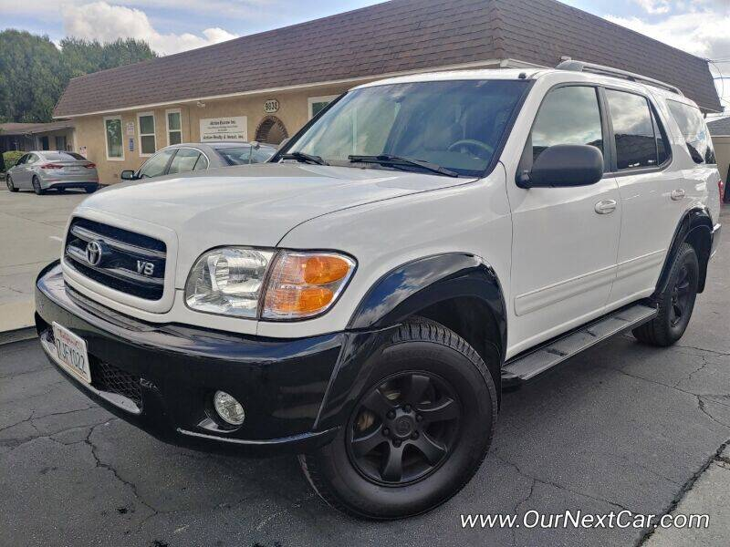 2003 Toyota Sequoia for sale at Ournextcar/Ramirez Auto Sales in Downey CA
