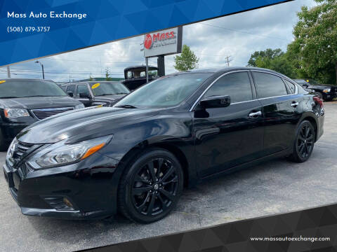2018 Nissan Altima for sale at Mass Auto Exchange in Framingham MA