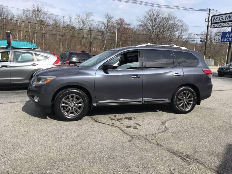 2014 Nissan Pathfinder for sale at M G Motors in Johnston RI