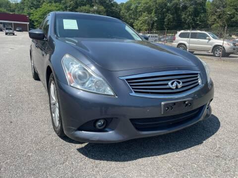 2012 Infiniti G37 Sedan for sale at Certified Motors LLC in Mableton GA
