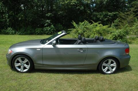 2010 BMW 1 Series for sale at Bruce H Richardson Auto Sales in Windham NH