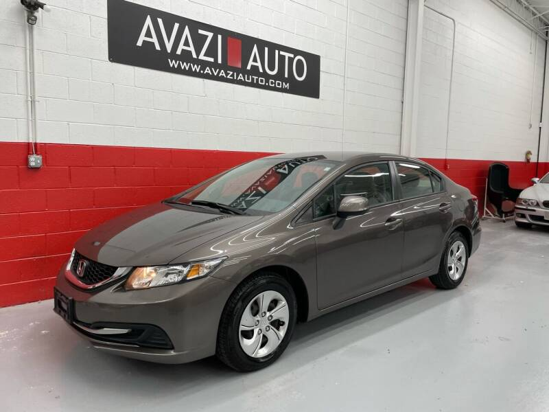 2013 Honda Civic for sale at AVAZI AUTO GROUP LLC in Gaithersburg MD