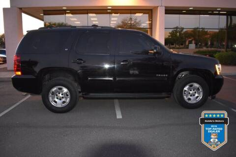2014 Chevrolet Tahoe for sale at GOLDIES MOTORS in Phoenix AZ