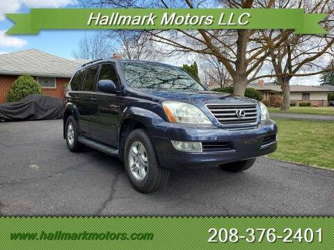 2004 Lexus GX 470 for sale at HALLMARK MOTORS LLC in Boise ID