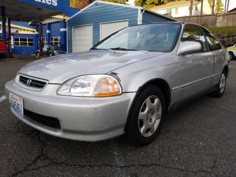 1998 Honda Civic for sale at Shoreline Family Auto Sales in Shoreline WA