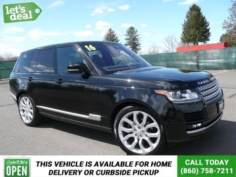 2016 Land Rover Range Rover for sale at Shamrock Motors in East Windsor CT