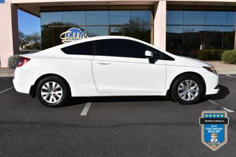 2012 Honda Civic for sale at GOLDIES MOTORS in Phoenix AZ