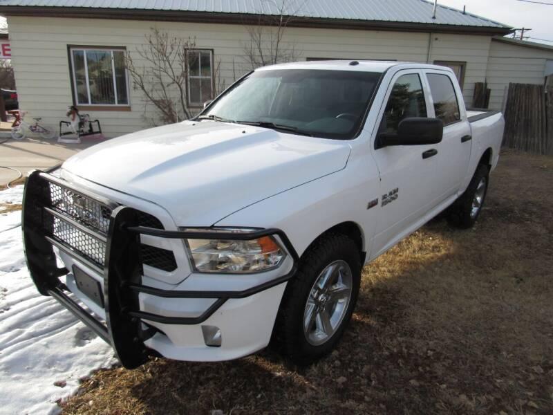 2016 RAM Ram Pickup 1500 for sale at HOO MOTORS in Kiowa CO