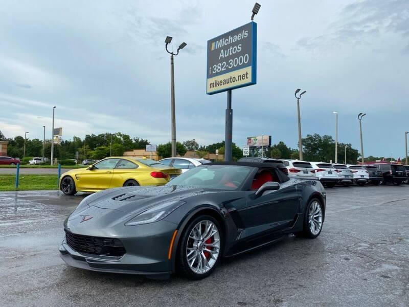 2017 Chevrolet Corvette for sale at Michaels Autos in Orlando FL