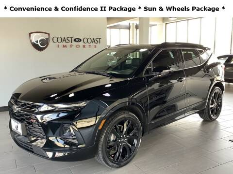 2019 Chevrolet Blazer for sale at Coast to Coast Imports in Fishers IN