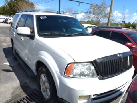 2006 Lincoln Navigator for sale at LAND & SEA BROKERS INC in Deerfield FL